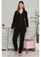 Akbeniz Pijama Takım Siyah